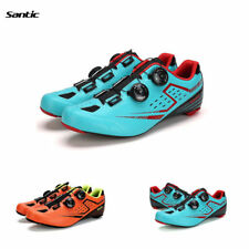 Santic Carbon fiber Cycling Shoes Road bike Bicycle Auto-lock Mens Shoes 39-45