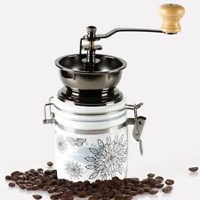 Chic Coffee Grinder Ceramic Burr Mill Manual Beans Home Kitchen Grinding Machine