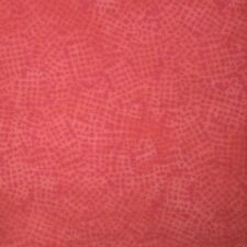 Quilt Fabric Cotton Calico Quilting Bright Pink Tonal Weave Print: FQ 17x21
