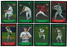 2007 Bowman Chrome Complete Team Set 14 Available Rookie Card Logo RC