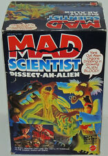 SEALED Mad Scientist DISSECT-AN-ALIEN Mattel 1986 Monster Figure Blood Playset