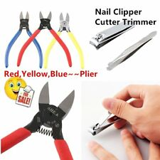 Manual Diagonal Beading Cable Wire Side Cutter Cutting Nippers Pliers Nail Art I