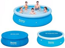 10FT FAST SET FAMILY SWIMMING PADDLING POOL AND COVERS FAMILY FUN OUTDOOR NEW