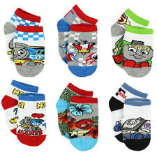 Thomas and Friends Boys 6 pack Gripper Socks (Toddler) TE018DQS