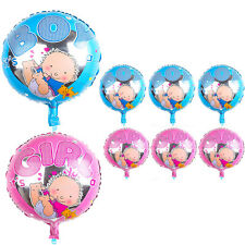 Its A Boy Girl Foil Helium Balloon Celebration Newborn Baby Shower Party Favors
