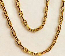 "10k yellow gold(2mm)Anchor chain(up to 32""inch)"