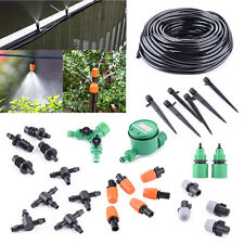 DIY Tool Micro Drip Irrigation System Auto Timer Plant Self Watering Garden Hose