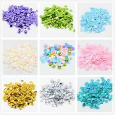 400pcs Round Cupped Cup Sequins Confetti for Sewing Crafts Decoration Confetti