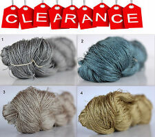 Clearance Sale 100% Silk Hand Embroidery Thread - Hand Dyed 1 Skein 50 Grams 7
