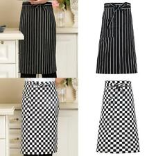 Kitchen Aprons Half-length Long Waist Apron Catering Chefs Waiters Uniform