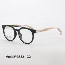 B5821 full rim unisex acetate optical frames prescription spectacles eyewear