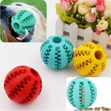 Dental Treat Bite Resistant Dog Training Pet Toy Chew Ball Teeth Cleaning