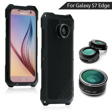 VIKING for Samsung Galaxy S7 edge G935 Camera Lens Kit 3in1 Heavy Aluminum Case