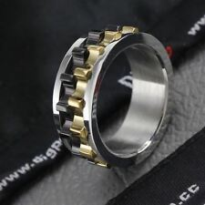 New Design Stainless Steel Plated Metal Charming Ring For Men