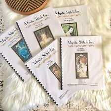 Mystic Stitch Counted Cross Stitch Chart Pattern Various Artists Your Choice New