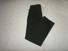 GAP CHINO LIVED-IN STRAIGHT PANTS MENS SIZE 31X32 ZIP FLY DARK OLIVE NEW NWT