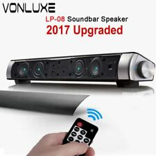 Upgraded HIFI Portable Bluetooth 10w Soundbar Remote Control Wireless Speaker Am