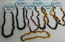 "Baltic Amber Baby Teething Necklace Anti Inflammatory XSmall 28cm 11"" #4"