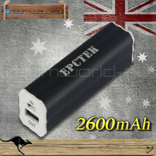 2600mAh USB Power Bank Charger For Apple Samsung HTC Nokia Sony LG Blackberry