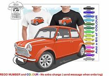 CLASSIC 2000 ROVER MINI COOPER S ILLUSTRATED T-SHIRT MUSCLE RETRO SPORTS CAR