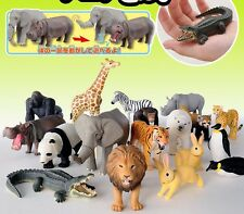 TOMY HighQuality movable simulation model wild animal Safari Zoo Doll Toy Figure