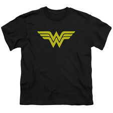 WONDER WOMAN Classic LOGO Licensed  Youth T-Shirt S-XL