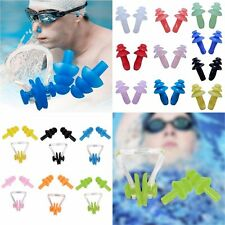 Comfortable Waterproof Soft Silicone Swimming Set Kids Adult Nose Clip Earplug
