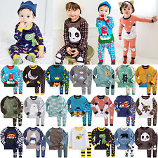 """BS25Styles"" Vaenait Baby Kid Toddler Boy Clothes Top+Trousers Pyjama Set 12M-7T"