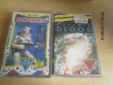 2 X Sinclair ZX Spectrum  Job Lot/Bundle  Captain Blood and Denizen(G9)