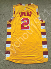Kyrie Irving Cleveland Cavaliers Yellow Swingman Sewn On Jersey Size S-XL NWT