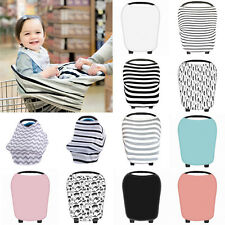 Comfort Multi-Use Infant Newborn Baby Car Seat Cover Stretchy Canopy Cart Cover