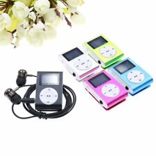 LCD Screen Metal Mini Clip MP3 Player with micro TF Card slot  High quality meta