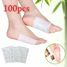 100 PCS Detox Foot Pads Patch Detoxify Toxins Fit Health Care Detox Pad  SR