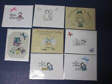 One: Handcrafted Blank Greeting Card:  All Occasion-7 Styles Available, Envelope