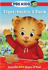 Daniel Tiger's Neighborhood: Tiger-tastic 3 Pack New DVD! Ships Fast!