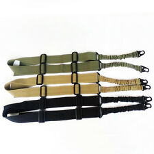 Tactical 2 Point Quick Detach Stealth Bungee Sling For M4 M16 Rifle Shotgun NEW