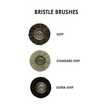 48 Bristle brushes (Soft, Std or x-Stiff) for your Dental Lab. Size 9, 11 & 12