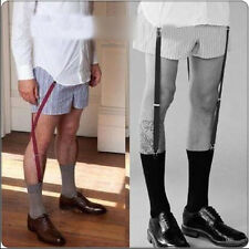 7529 1Pair Sexy New Vintage Men's Adjustable Sock Garters Gentlemen Double Grip