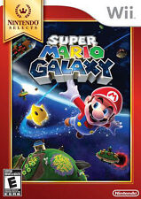 Super Mario Galaxy (Nintendo Selects,Wii, 2011)NEW SEALED Bowser Princess Peach