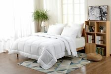 Full, Queen, King, Down Alternative Comforter White Solid- Free Shipping ! ! !