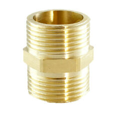Air Hose Line Fitting Straight Pipe Fitting Brass Adapter Connector Coupler