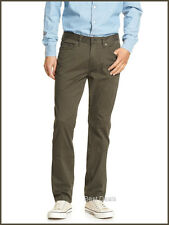 Banana Republic Men's Sueded Slim Fit Stretch Pant JEAN GREEN NEW FREE FAST SHIP