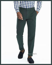 BANANA REPUBLIC MEN'S Emerson CHINO Straight Pants FOREST NEW FREE FAST SHIPPING