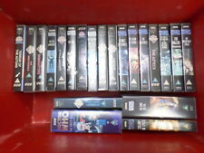 Various Doctor Who Vhs tapes from Hartnell to McGann