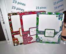 VERA BRADLEY CHOICE OF ONE WRITE AWAY DRY ERASE BOARD WITH MARKER NEW SEALED