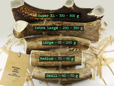 Antler Horn Chews For Dogs Small Medium Large XL Stag - 100% Natural - Calcium