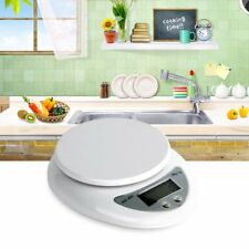 Compact Digital Kitchen Scale Diet Food 5KG 11LBS x 1g w/Electronic Wei SO