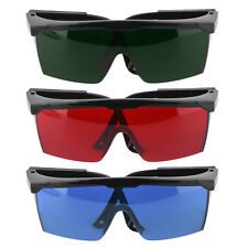 Protection Goggles Safety Glasses Green Blue Red Eye Spectacle Protective New SO