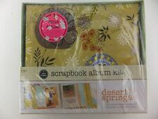 1 Hour Scrapbook in a Box Kit Desert Springs by SEI No Cutting Needed