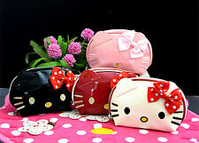 New Hellokitty Cosmetic Handbag make up Bag Clutch Storage Case aa-226